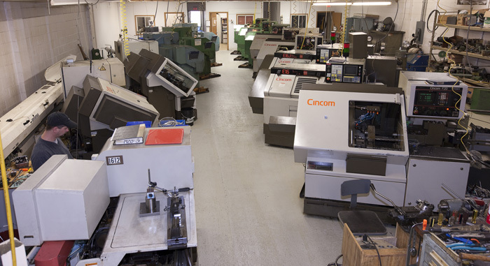 25 Citizen CNC Swiss Automatic Screw Machines